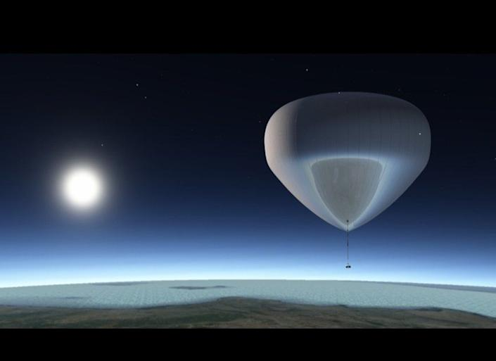 The bloon, <a href=&quot;http://www.huffingtonpost.com/2011/08/24/bloon-space-balloon-pictures-video_n_935415.html&quot; target=&quot;_hplink&quot;>a helium-filled balloon</a>, will take a capsule with as many as six people to 118,000 feet -- not quite outer space, but near space. The cost? &amp;euro;110,000, or about $147,000.