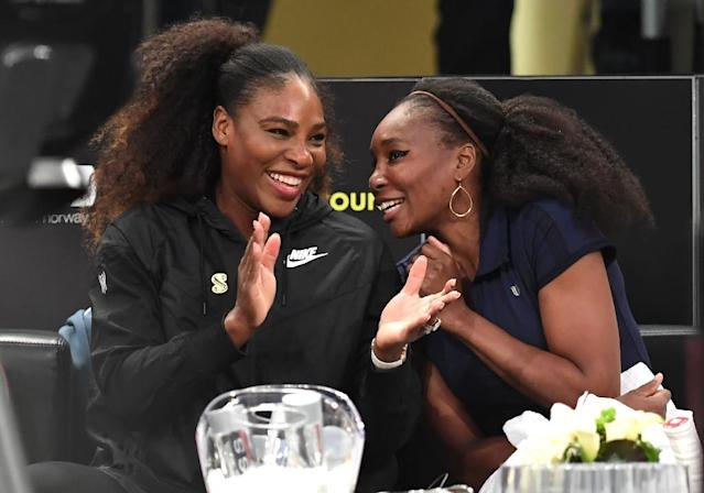 Serena and Venus Williams will not feature for the United States in their Fed Cup semi-final in France (AFP Photo/TIMOTHY A. CLARY)