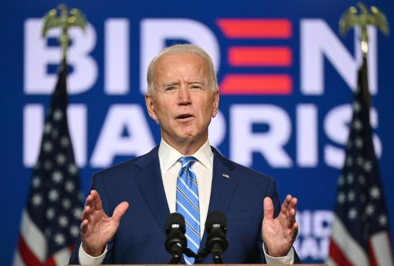 Joe Biden said he is confident he has done enough to win the White House, though Donald Trump accused the Democrats of fraud