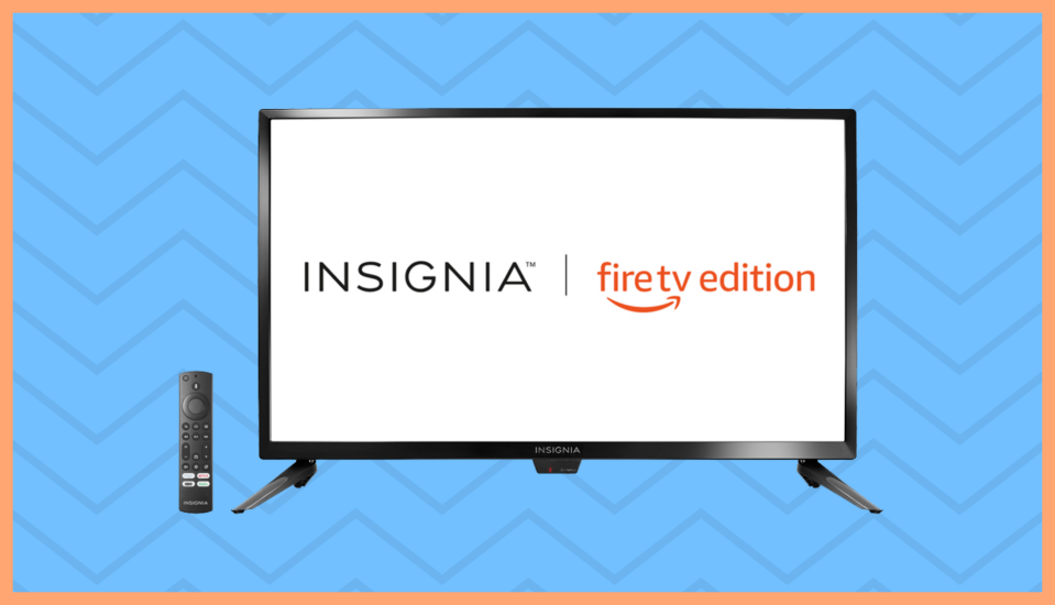 "Ahórrate 60 dólares en este televisor Insignia 4K de 39""—Fire TV Edition (Foto: Amazon)."