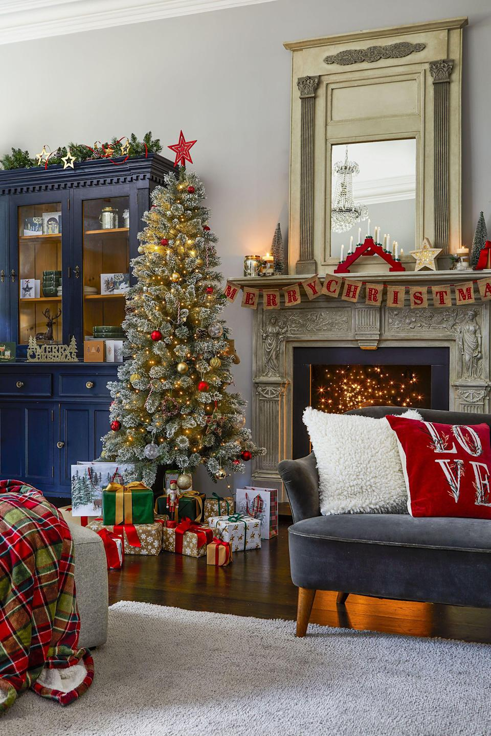 """<p><strong>Tesco has unveiled five festive homeware trends — Nordic Blues, Forest Greens, Powdered Stone, Playful Brights and F&F Tableware — to snap up in time for <strong><a href=""""https://www.housebeautiful.com/uk/christmas/"""" rel=""""nofollow noopener"""" target=""""_blank"""" data-ylk=""""slk:Christmas"""" class=""""link rapid-noclick-resp"""">Christmas</a> 2021. </strong></strong></p><p>From stylish silver baubles to classic tartan, there are tons of timeless products to buy now and love for Christmases to come. Available to purchase from Monday 1st November, it's never too early to start compiling your wish list. </p><p>'The evolution of our Christmas collections is something that's really important to us,' says Emma Parry, Head of Seasonal at <a href=""""https://go.redirectingat.com?id=127X1599956&url=https%3A%2F%2Fwww.tesco.com%2F&sref=https%3A%2F%2Fwww.housebeautiful.com%2Fuk%2Flifestyle%2Fshopping%2Fg37076170%2Ftesco-christmas-homeware%2F"""" rel=""""nofollow noopener"""" target=""""_blank"""" data-ylk=""""slk:Tesco"""" class=""""link rapid-noclick-resp"""">Tesco</a>. 'We want our customers to be able to come in year after year and buy just a few new pieces that will effortlessly pair with existing decorations.'</p><p>Take a look at some of our favourite items... </p>"""