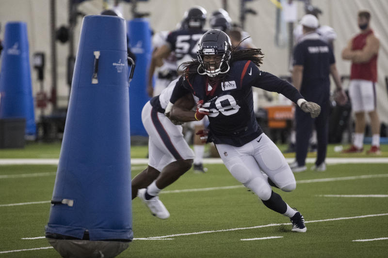 Texans ILB Peter Kalambayi ruled out for Steelers