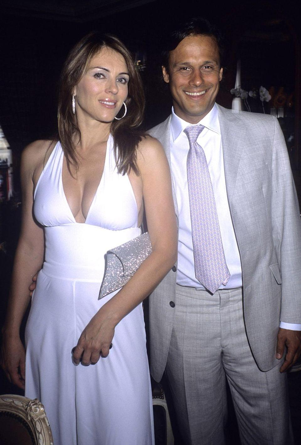 "<p>Tradition was key for Elizabeth Hurley and Arun Nayar. The couple ended up <a href=""https://www.cbsnews.com/pictures/most-expensive-weddings-of-all-time/5/#:~:text=The%20wedding%20of%20the%2021st,which%20cost%20a%20whopping%20%24434%2C000."" rel=""nofollow noopener"" target=""_blank"" data-ylk=""slk:having two ceremonies"" class=""link rapid-noclick-resp"">having two ceremonies</a>: one traditional wedding in an English castle and a Hindu ceremony in Nayar's hometown of Jodhpur, India. Together, the events cost around $2.5 million. The pair were only married for four years and divorced in 2011. </p>"