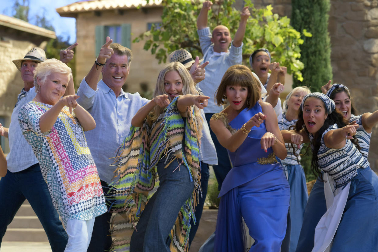 'Mamma Mia!: Here We Go Again' will air on ITV. (Universal Pictures)