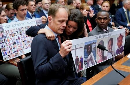 Family Members of 737 Max Crash Victims Testify to Congress