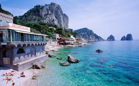 Capri - Credit: This content is subject to copyright./Atlantide Phototravel