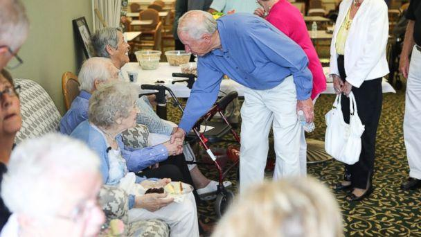 PHOTO: Donald and Vivian Hart of Grand Rapids, Michigan, celebrated their 80th anniversary on June 25. (Courtesy of Andi Ripley)