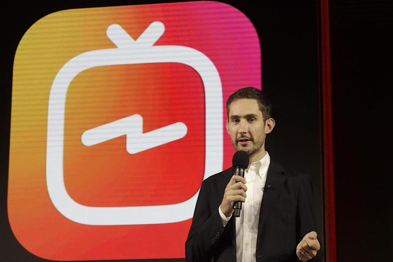 Mr Systrom wrote a statement on behalf of the pair (AP)