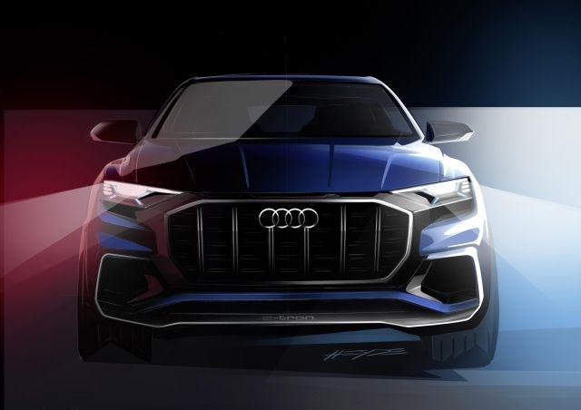 New Audi Q8 To Break Cover At 2017 Detroit Motor Show