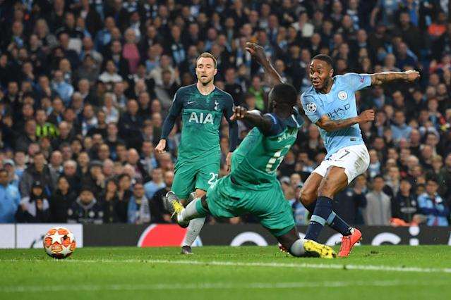 Sterling thought he'd won it in stoppage-time, only to see VAR rule the strike out