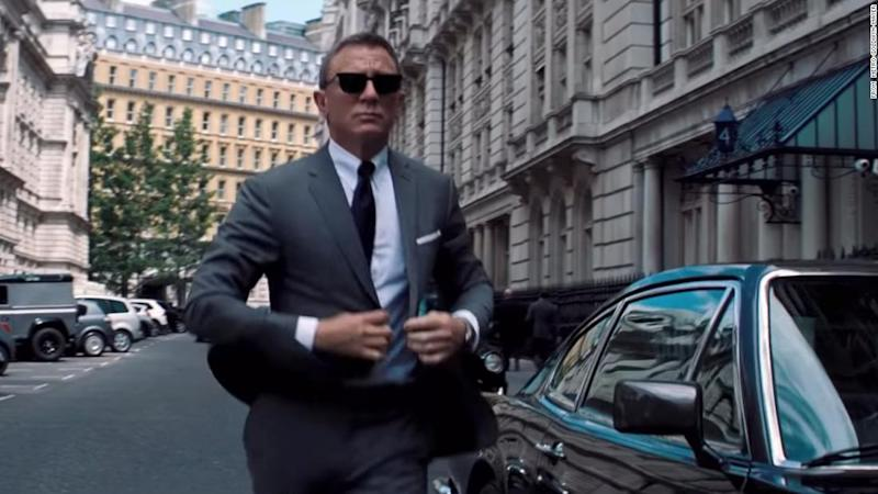 A teaser of the new James Bond movie 'No Time to Die' has been released