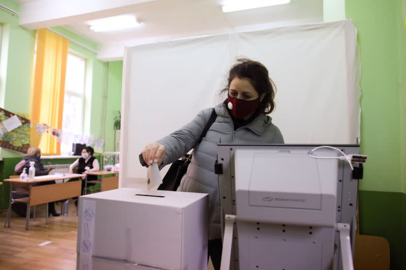 Parliamentary elections in Sofia