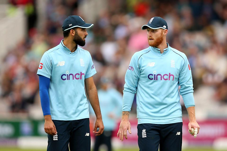 Ben Stokes, right, has been impressed with Saqib Mahmood (PA Wire)