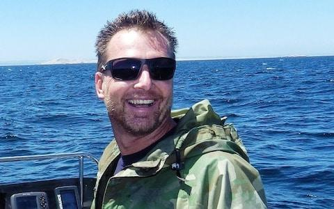 Rainer Schimpf, 51, has worked as a dive tour operator in South Africa for over 15 years