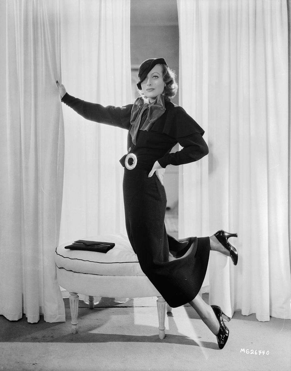 <p>Throughout the '30s Joan's career soared. She was one of the biggest stars at MGM studio, starring in films such as <em>Sadie McKee, No More Ladies</em>, and<em> Love on the Run. </em> </p>