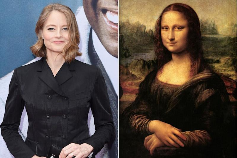 Jodie Foster; the Mona Lisa | Axelle/Bauer-Griffin/FilmMagic; Universal History Archive/Getty