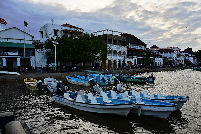 Tourism and fishing are the main sources of income in Lamu (AFP Photo/TONY KARUMBA)
