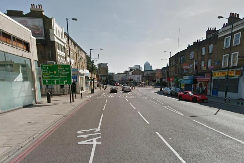 Crash: A man suffered serious injuries: Google Street View