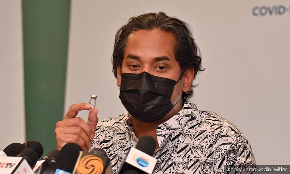 Former youth and sports minister Khairy Jamaluddin