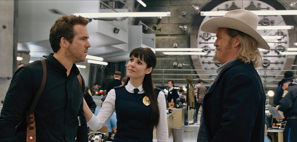 "Ryan Reynolds, Mary Louise Parker and Jeff Bridges in Universal Pictures' ""R.I.P.D."" - 2013"