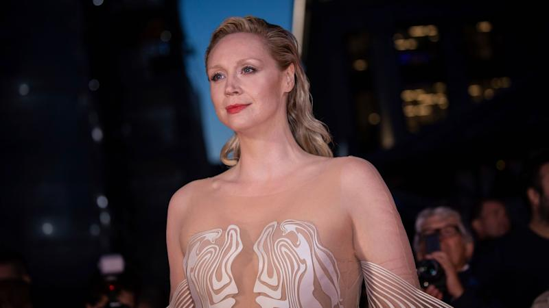 Gwendoline Christie Looks Like a Phoenix Rising from the Ashes In This Gorgeous Gown