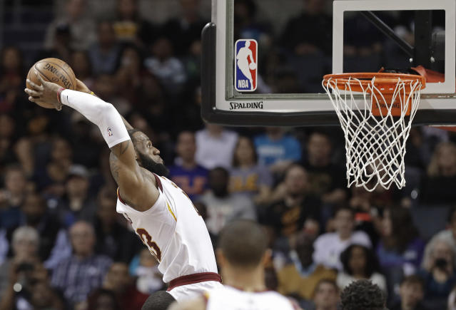 LeBron James has plenty of suitors for his services, but no destination is a slam dunk. (AP)