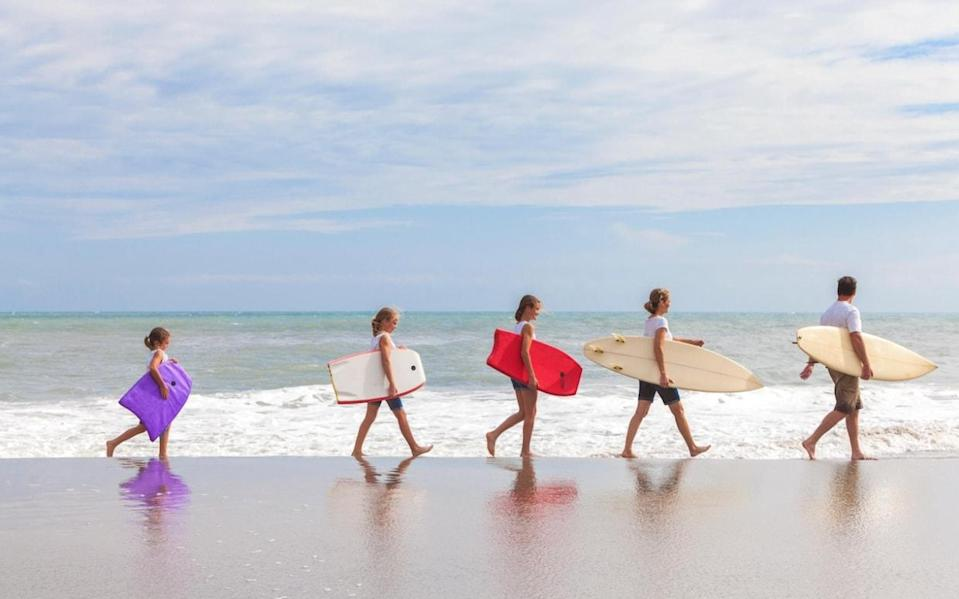 Surf lessons are among the activities on Yonder's Family Holiday to Sri Lanka