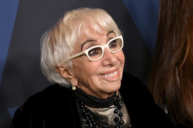 HOLLYWOOD, CALIFORNIA - OCTOBER 27: Lina Wertmüller attends the Academy Of Motion Picture Arts And Sciences' 11th Annual Governors Awards at The Ray Dolby Ballroom at Hollywood & Highland Center on October 27, 2019 in Hollywood, California. (Photo by Kevin Winter/Getty Images)