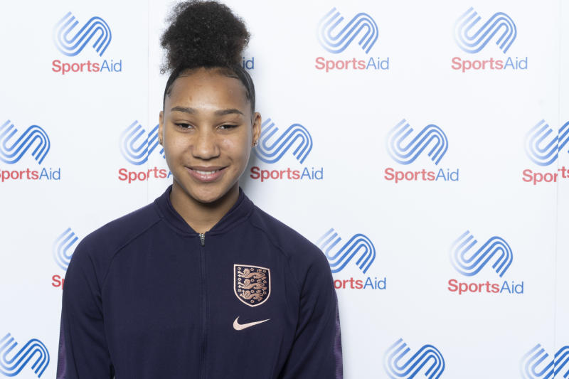Lexi Lloyd-Smith plays for both Chelsea and England and has been financially supported by SportsAid