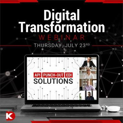 "Digi-Key's Digital Transformation Webinar will take place on July 23 at 11 a.m. CST - attendees will receive a free e-book on ""Demystifying Digital Transformation for Procurement"""
