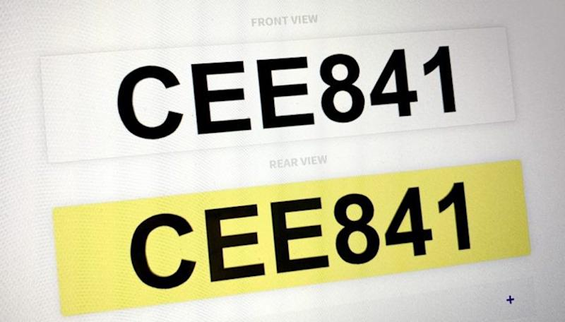 At a glance, CEE841 reads like a profanity in the Hokkien dialect. — SoyaCincau pic