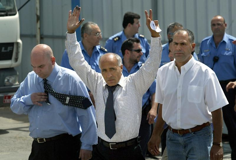 Norway has agreed to host former Israeli nuclear technician and whistleblower Mordechai Vanunu, here shown leaving jail in 2004