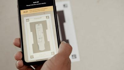 The BD Veritor™ At-Home COVID-19 Test will use a simple, pain-free nasal swab and an easy-to-use mobile app from Scanwell Health that yields reliable test results in 15 minutes. The app provides step-by-step instructions on how to collect and transfer the nasal swab sample to the test stick. The mobile device's camera is then used to capture, analyze and interpret the results, which eliminates the human subjectivity of a visually read test.
