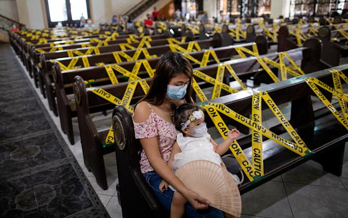 The Philippines has had one of the world's longest and strictest coronavirus lockdowns - REUTERS