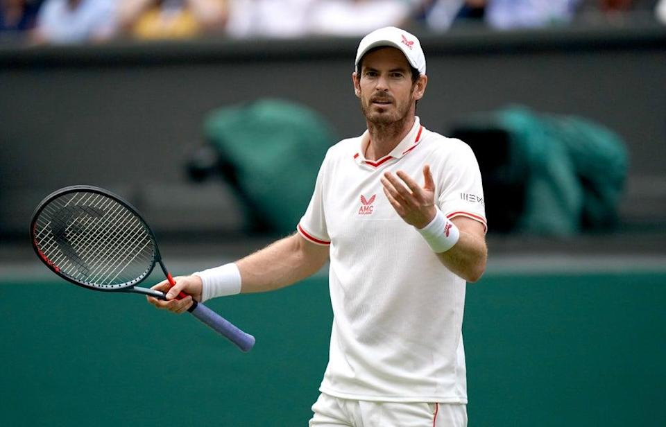 Andy Murray lost his second-round match at the Open de Rennes (Adam Davy/PA) (PA Wire)