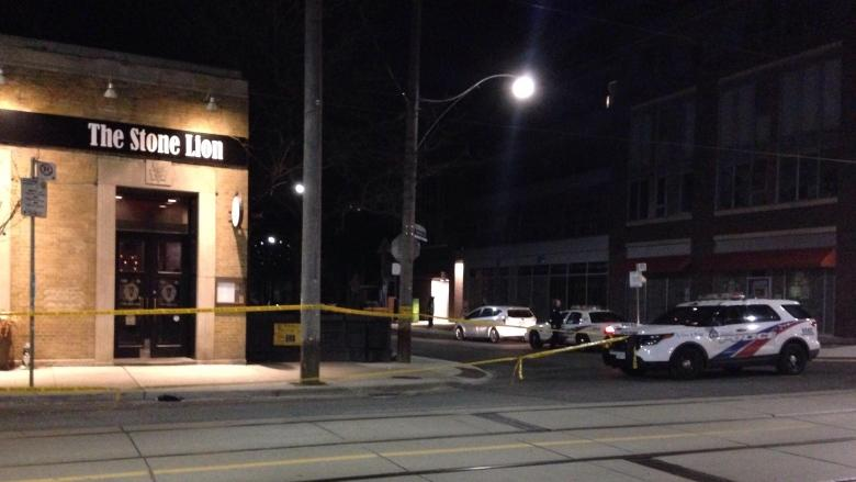 2 men charged after stabbing outside pub in the Beach