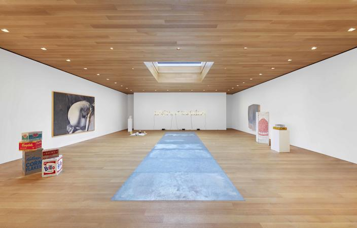 Installation view of the Brant Foundation's East Village show, Third Dimension.