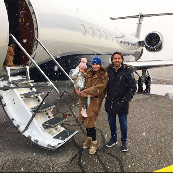 <p>When a weekend trip to the snow calls for a private jet ride… yes please! Source: Instagram/ Tamara Ecclestone </p>