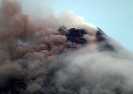 Ash eruption from Philippines volcano triggers evacuation