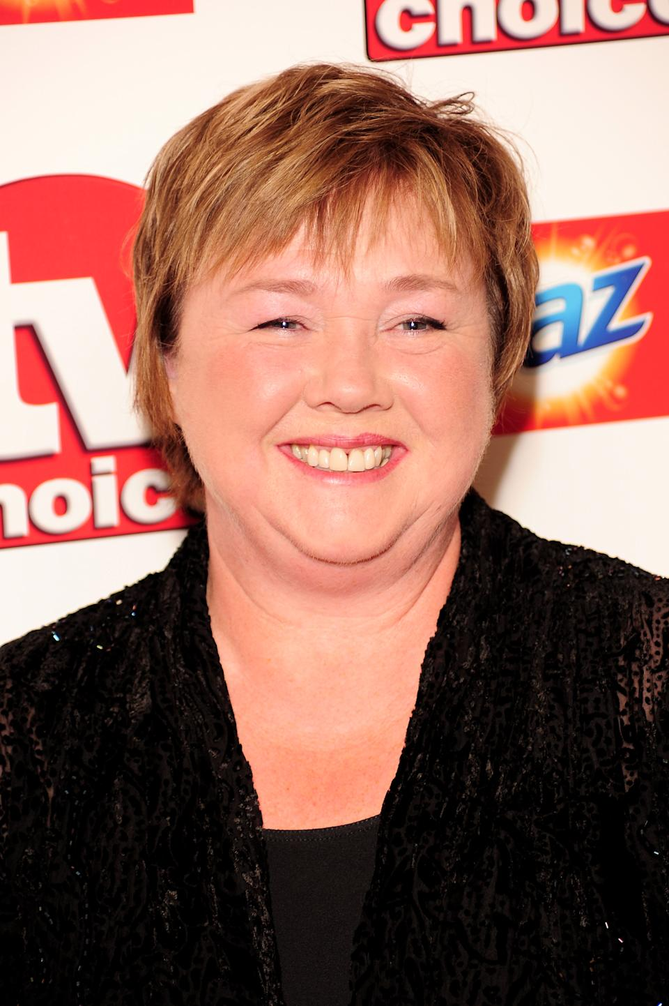 Pauline Quirke arrives at the TV Choice Awards 2010 at The Dorchester on September 6, 2010 in London, England.  (Photo by Ian Gavan/Getty Images)