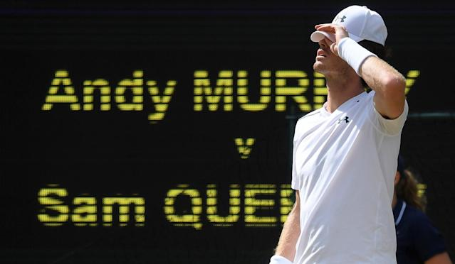 Out: Murray's title defence is over