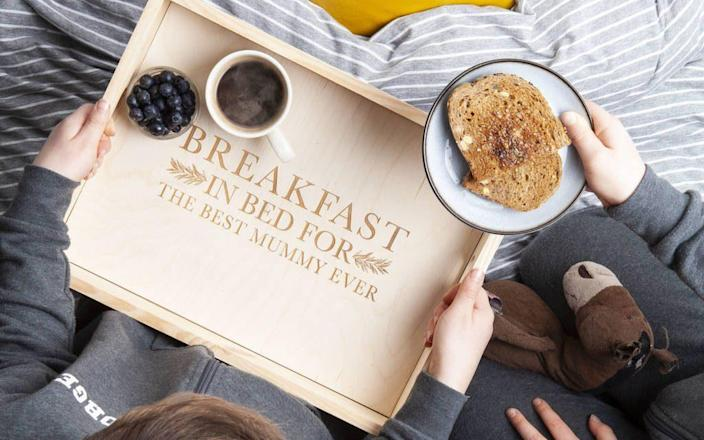 Breakfast tray - Not on the High Street