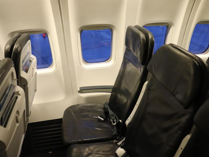 Alaska Airlines Window Seat