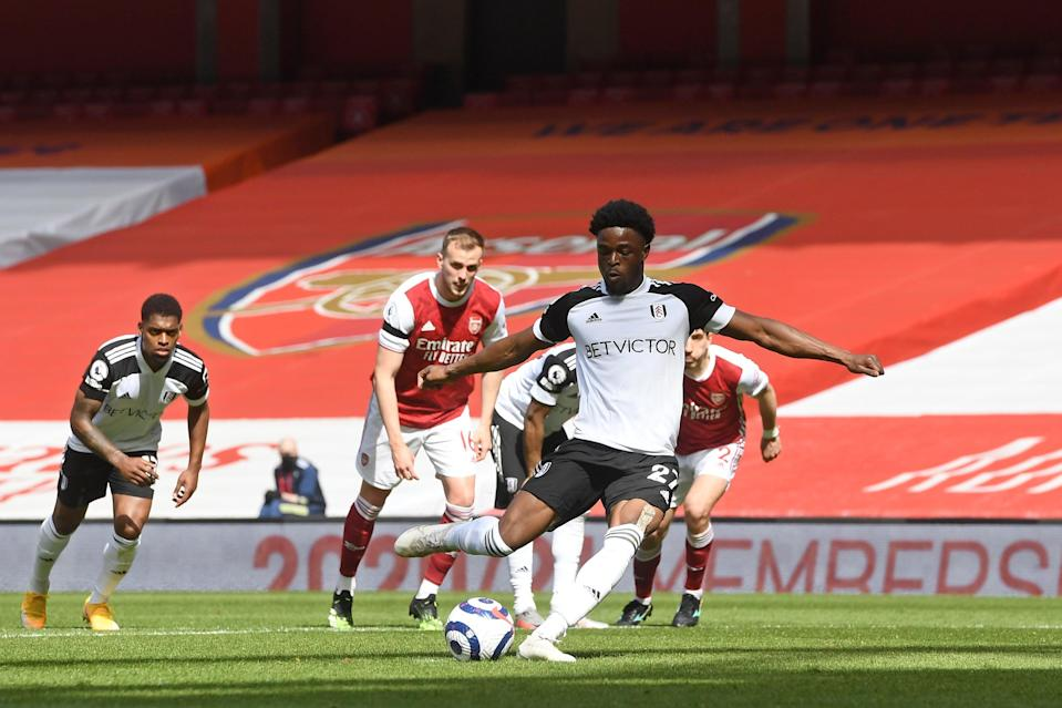 Josh Maja fires home from the spot (AP)