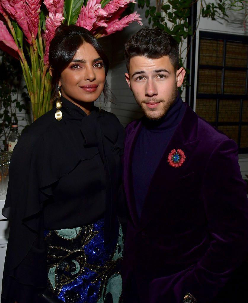 <p>The couple looked cute at an awards show party in LA earlier this year.</p>