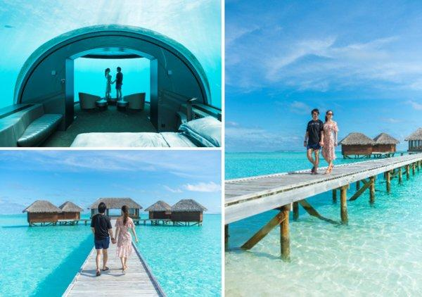 Conrad Maldives Rangali Island welcomes the honeymoon of the world-renowned pianist Lang Lang and his new wife Gina Alice Redlinger