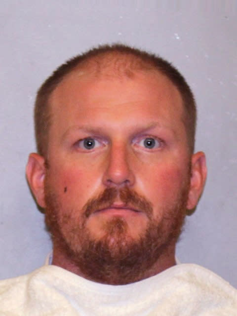 In a photo provided by the Jackson County Prosecutor, former Kansas City Chiefs assistant coach Britt Reid is shown. Reid has been charged with driving while intoxicated after a crash that critically injured a 5-year-old girl. Jackson County prosecutors announced the charges Monday, April 12, 2021, against Reid. Prosecutors allege Reid was driving about 84 mph and had a blood-alcohol level of .113 about a half-hour after the crash near Arrowhead Stadium on Feb. 4. (Jackson County Prosecutor via AP)
