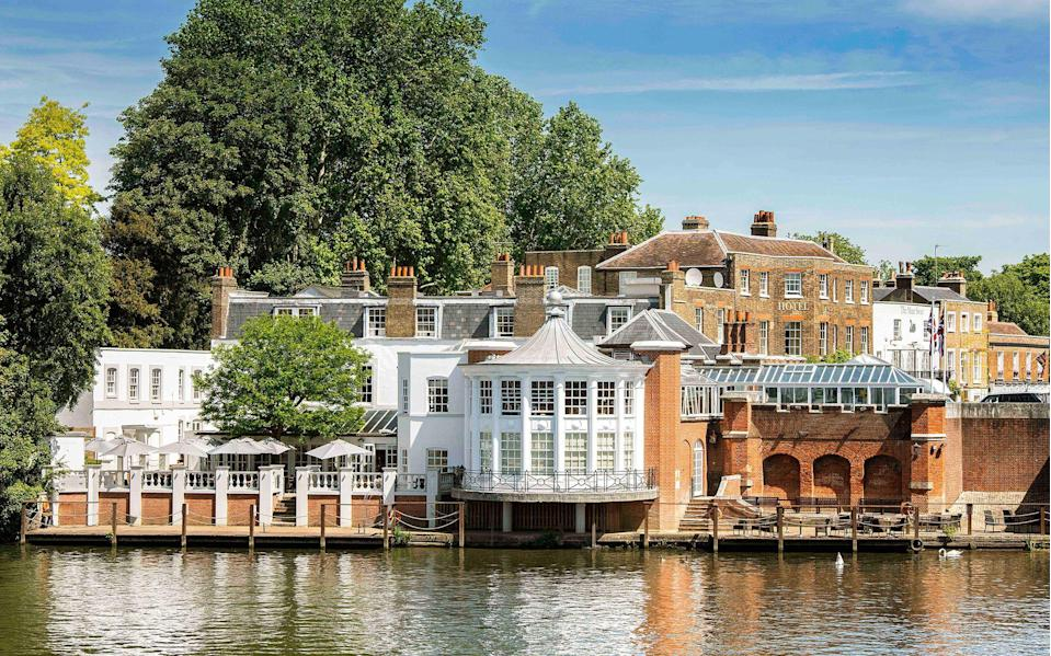 The Mitre: a revamped riverside hotel opposite Hampton Court Palace