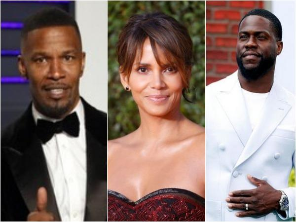 Jamie Foxx, Halle Berry and Kevin Hart