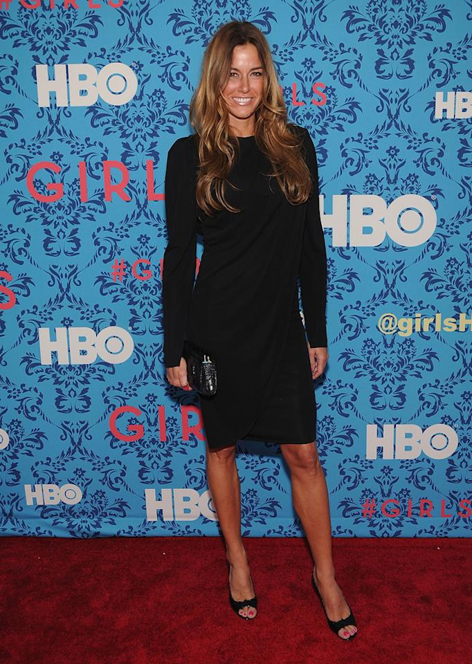 """Kelly Bensimon attends the premiere of HBO's """"<a target=""""_blank"""" href=""""http://tv.yahoo.com/girls/show/47563"""">Girls</a>"""" at the School of Visual Arts Theater on April 4, 2012 in New York City."""